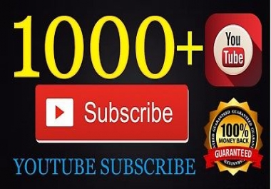 promote your  Youtube channel 1000 youtube SbsCribr