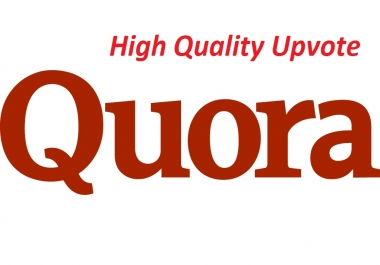 100 High Quality Worldwide Quora UpVotes