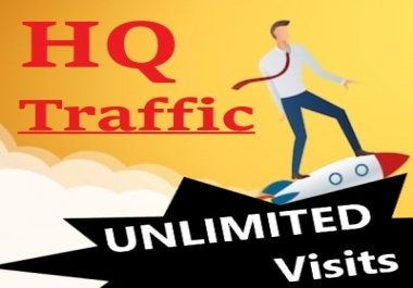 20K+ HQ VISITS to your LANDING PAGE