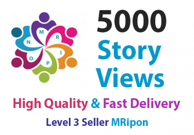 Start Instant 5000 High Quality Social Story Views