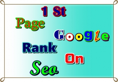 Guaranteed Google 1st page Ranking Service On Seo
