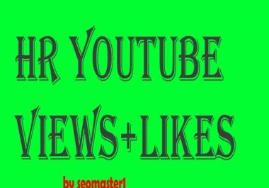 3000 High retention and non drop youtube Vi-ews+20 li-ke