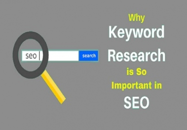 Do profitable SEO Keyword Research  to rank in google 1st page