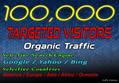 Drive 100000 Target Web Traffic for 30 Days