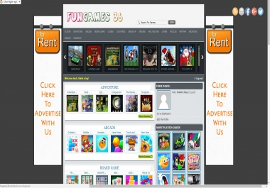 Create online game sites with 1035 games