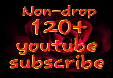 Non-drop 121 Permanent Yt Sub very fast delivery