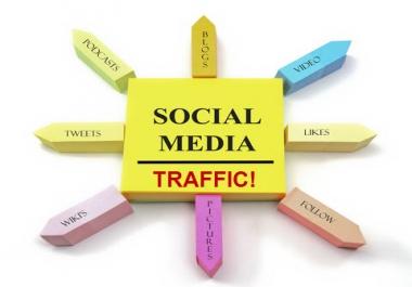 Get Fast 1000 HQ Social Refer Real Website Traffic