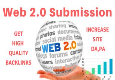 Get Fast 10 High Page Rank Web 2.0 SEO Backlinks