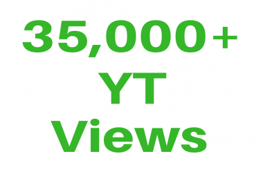 Promotional Work For 35K VIsitor/Views Increased In Your Link