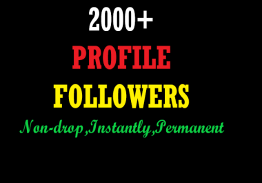 Instantly 2000+ Real & active  Social Profiles promotion within 2 hours