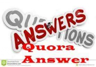 Excellent Offer I will create 20 Quora Backlin for your website