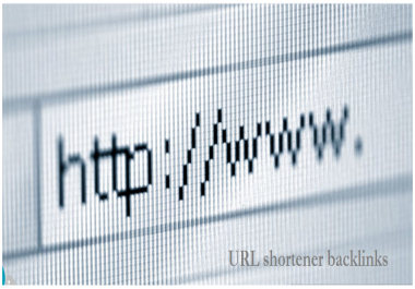 Add 1000+ URL shortener backlinks