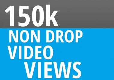 Start Instant 150000+ High Quality Social Video Views Fast and Stable Lifetime