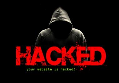 Fix hacked WordPress Site, clean malware, malicious, virus