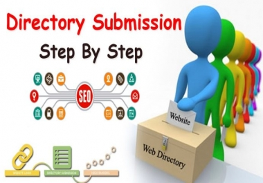 Add your business details manually on 30 High PR directories