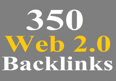 350 WEB 2.0 Blogs Backlinks DA 80- Blast your ranking
