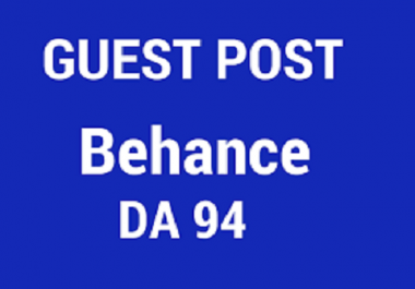 Publish guest on BEHANCE [DA94]