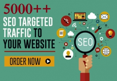 Drive 5000 ++ Low Bounce Rate High Quality Traffic