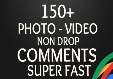 GET 150+ SOCIAL Photo OR Video Comments with Whitehat method to Improve SEO Ranking