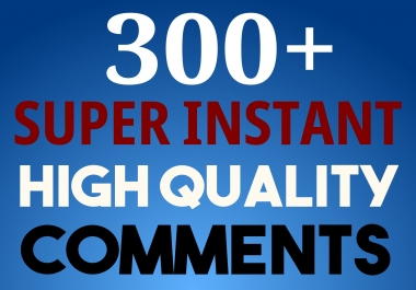 GET 300+ SOCIAL Photo OR Video Comments with Whitehat method to Improve SEO Ranking