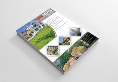 I Will Be Flyer Designer And Brochure Designer