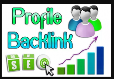 Will Create 1000 High Page Rank Profile Backlinks