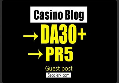 do guest post in PR5 CASINO BLOG