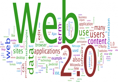 30+ LATEST 2018 HIGH AUTHORITY GOOGLE FRIENDLY WEB 2.0 SITE  FOR $2