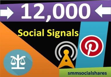 12,000 Pinterest Share Social Signals Important For SEO Ranking