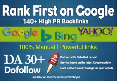 140+ Dofollow High Quality SEO Backlinks for website extra Ranking on search engine