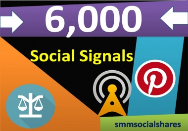 6,000 Pinterest Share Social Signals Important For SEO Ranking