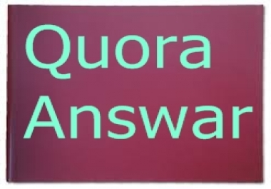 Promote your website 15 High quality Quora backlink