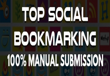 Add 20 High DA Social Bookmarks