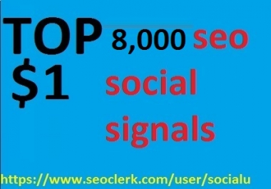 8,000 Powerful Seo Social Signals Come From PR9 Google Share Pinterest Shares signals Bookmark