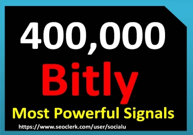 TOP 400,000 bitly SOCIAL SIGNALS With NUCLEAR SEO Package