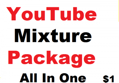 YouTube Mixture Package - All In One