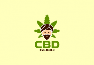 fun logo character for cannabis and medical