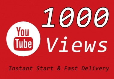 1000 Or 1K Or 1,000 YouTube Video Traffic with choice Extra views service 1000, 2000, 3000, 5000, 10000, 15000, 20000, 25000, 40000 and 50,000, 50k, 100,000 100k, 200K, 300K, 500K, 1 Million