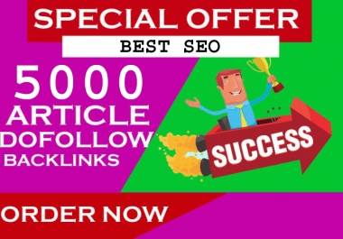 Do 5000 Contextual Backlinks From Article Directories