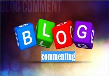 provide your website 50 Manually Penguin/panda safe blog comment  Back links