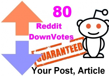 80 reddit upvotes to your reddit post or links or articles within 5 Hours
