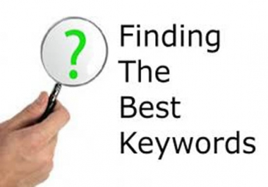 20+Do keywords research, Analysis for seo , Adwords