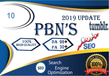 Permanent 10 PBN Backlinks High quality any product and Cpa Affiliate Marketing & Business Promotion benefit To boost SEO site Traffic & Share Bookmarking Backlink Most imperative SEO and Boost Google