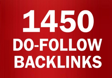 1450+ Do follow Blogs Backlinks high PR-0 - PR-9 And DA 48+ / Blast Your SEO Ranking
