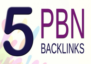 5 pbn- backlinks from my top private blog PA 20