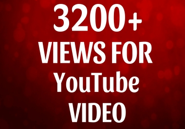 Add 3200+ HQ YouTube Vie ws Fast and High quality