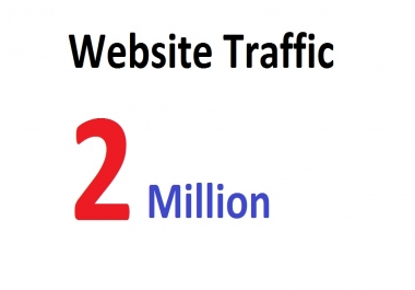 2 Million Targeted Human Traffic Visitors to your Website or Blog From Social Media