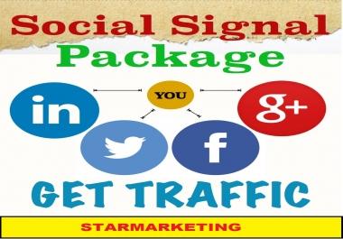5000 Real SEO Social Signals Pack