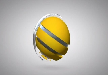 create this 3D BALL Animation Logo reveal HD intro video for your Logo