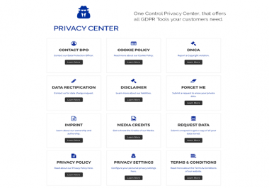 The All in One WordPress GDPR Solution for your site